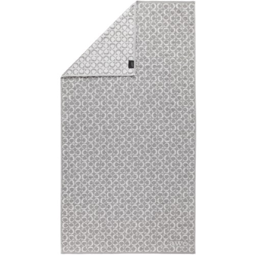 Cawö Two - Tone C - Allover Platin Duschtuch