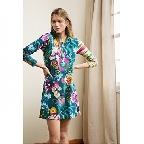Desigual Nightdress Paisley Bloom XS