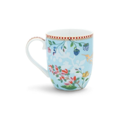 Mug Small Hummingbirds Blue Vorne