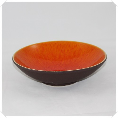 Jars Keramik Tourron Fb.Orange Suppenteller 19 cm