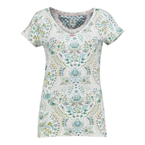 Toy Sea Stitch Top Short Sleeve Blue