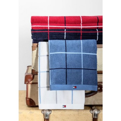 fashion styles best cheap outlet online Tommy Hilfiger Badetuch Kariert Red 90x200 cm