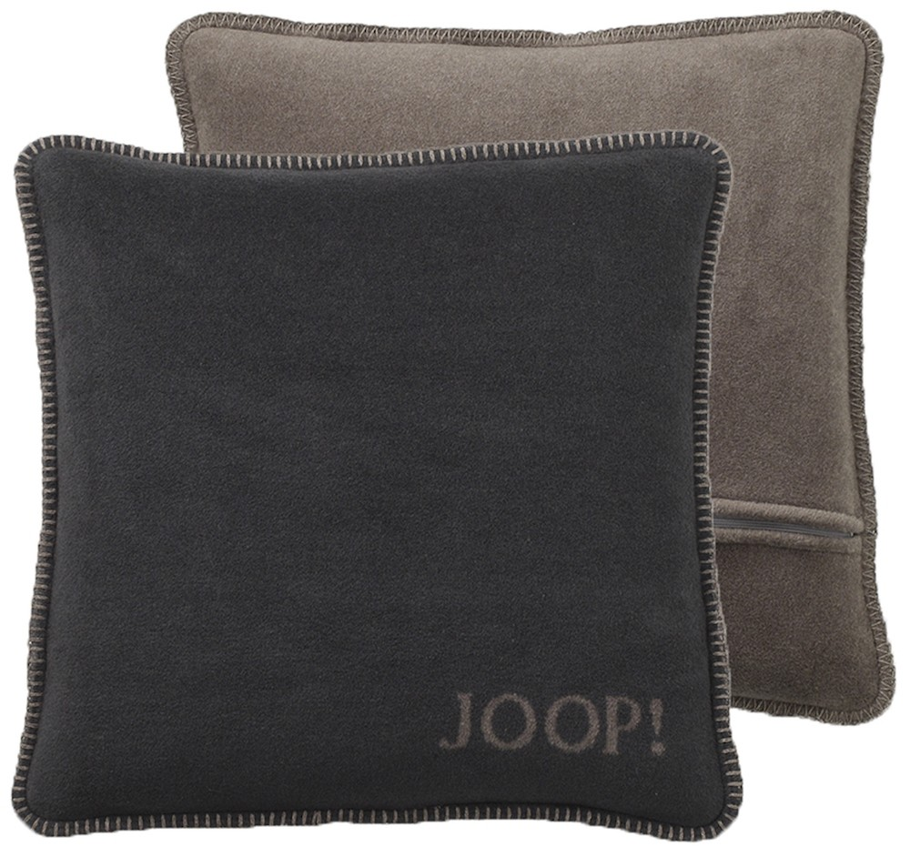 joop kissenh lle 50 x 50 cm anthrazit taupe bett und so. Black Bedroom Furniture Sets. Home Design Ideas