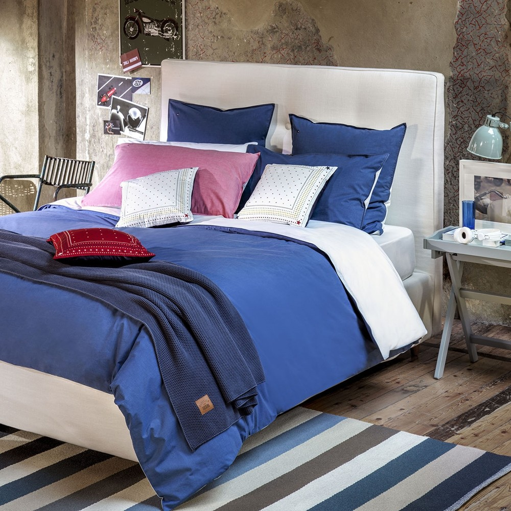 tommy hilfiger bettw sche denim braycham 155x220 cm bett und so. Black Bedroom Furniture Sets. Home Design Ideas